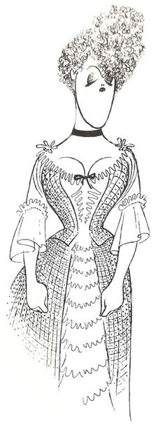Bernadette Peters ~ Al Hirschfeld