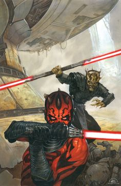 """""""We are brothers. The true Lords of the Sith."""""""