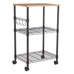 2 Tier Black Metal Multifunctional Microwave Oven Rack Household Kitchen Shelf Plant Stand Pinterest Shelves And