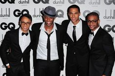JLS band members are in wish list