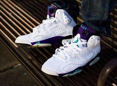 """Air Jordan 6 """"Grape"""" Customs by El Cappy   KicksOnFire"""