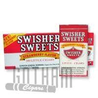 Swisher Sweets Little Cigars Strawberry - Gotham Cigars #swisher #swishersweets