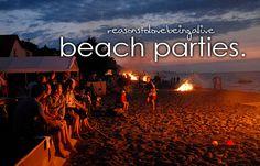beach partiesss ~!