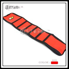 Red And Black Rubber Motorcycle Gripper Soft-Grip Seat Cover Moto Part For CR125 CR250 1997 1998 1999 97 98 99 Free Shipping