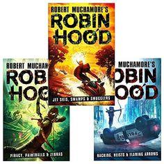Robin Hood Series 3 Books Collection Set By Robert Muchamore