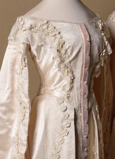 Grand Duchesses Olga and Tatiana court dresses