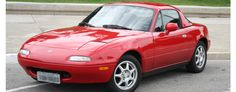 mazda miata na 1995 racing coupe sportscar fun excitement
