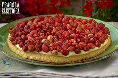 CROSTATA CON FRAGOLINE DI BOSCO fragolaelettrica.com Le ricette di Ennio Zaccariello #Ricetta