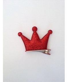 Bico de Pato Coroa Três Pontas Vermelho