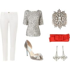 """""""NYE Winter Sparkle"""" by sweetonstyle on Polyvore"""