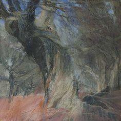 Sarah Bee, dark woods / colored drawing