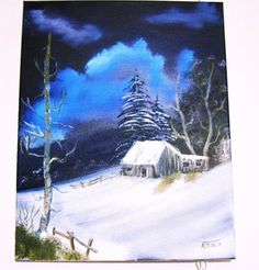 Art Painting Landscape Scenic Arcylic Surreal by ALBERTSCRAFTS, $75.00