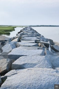Cape Cod Charm Happy As A Clam| Serafini Amelia| Gorgeous shot of the jetty aka the breakwater in P-Town (MA)