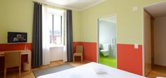 Pestalozzi Flair. Also rooms without barriers in our hotel in the centre of Lugano - Hotel Pestalozzi, Lugano