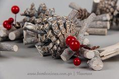 Χριστουγεννιάτικα διακοσμητικά για το σπίτι, τη βιτρίνα, το event | bombonieres.com.gr