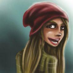 Indie Girl Illustration
