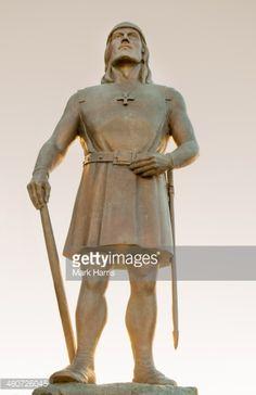 State of explorer Leif Eriksson in Trondheim, Norway, the town... #trondheim: State of explorer Leif Eriksson in Trondheim,… #trondheim