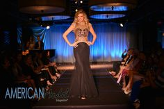 Sterling Smith rocking the runway for Mac Duggal in Miami   Photo: Amanda Ferguson Photography @afergusonphoto  Hair & Makeup: Crown Style Glam @crownstyleglam