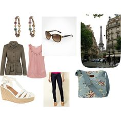 My outfit for Paris... if I ever go again.  created by michele-1171 on Polyvore