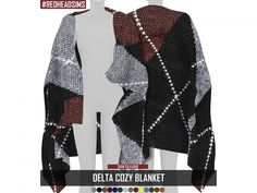 The Sims 4 DELTA COZY BLANKET TS4