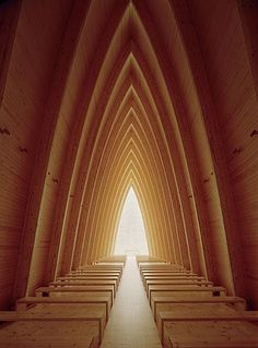 ST. HENRY'S ECUMENICAL ART CHAPEL on an island in Turku, Finland