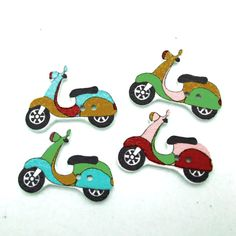 DIY 50pcs/lot Mixed Random Electromobile Patterns Cartoon Style Natural Wooden Buttons 2 Holes Sewing Fit Craft Scrapbooking #>=#>=#>=#>=#> Click on the pin to check out discount price, color, size, shipping, etc. Save and like it!
