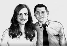 Portré / ceruza rajz /megrendeles /üdv Ben a 6 rajzolója