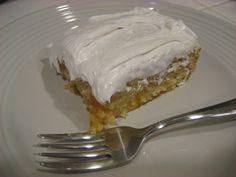 Easy Peachy Cake