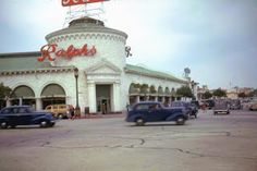 Westwood Village in the 1940s