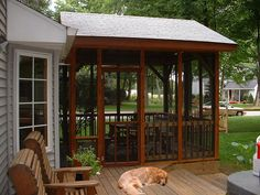 screen porch 002 by rdpaige@sbcglobal.net, via Flickr