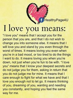 I love you means love love quotes relationship quotes relationship quotes and sayings Soulmate Love Quotes, Love Quotes For Her, Cute Love Quotes, Romantic Love Quotes, Love Yourself Quotes, Love Poems, My Love For You, Promise Quotes, Romantic Poems
