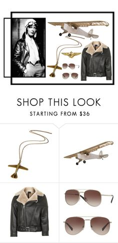 """Aviator"" by bren-johnson ❤ liked on Polyvore featuring Topshop and Valentino"