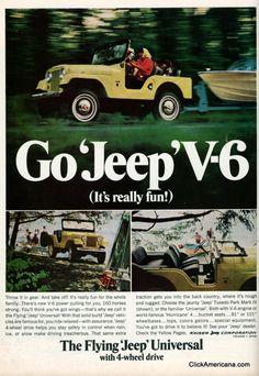 Go Jeep V6: The fun 4-wheel-drive (1966)