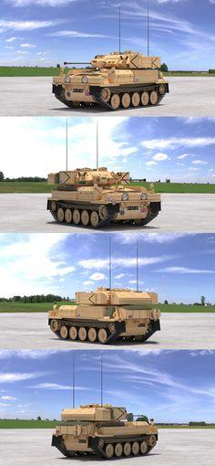 "3D model ""CVR(T) FV107 Scimitar (Desert)"" #3Dmodel #3Dartist #Tank #Collection #3Dsmax #Vray #Frigatez"