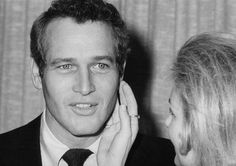 Paul Newman and Joanne Woodward, New York, 1969