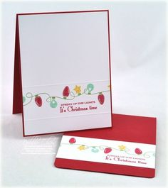 Christmas card by Debbie Olson for Papertrey Ink (September 2011).