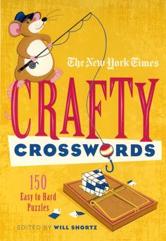 illustration and animation: Lucie Rice cover illustration for NY Times Crosswords