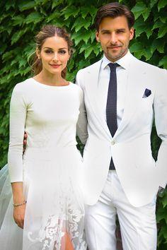 Olivia Palermo Wedding Dress Carolina Herrera (Vogue.com UK)