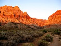Red Rock Canyon, Las Vegas Nevada Not a national park but a beautiful place to hike and climb on the way to Zion National Park