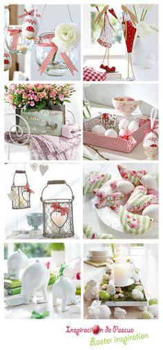 ChicDecó: Ideas de decoración de PascuaPretty Easter decoration ideas