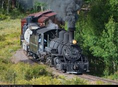 RailPictures.Net Photo: DRGW 463 Denver & Rio Grande Western Railroad Steam 2-8-2 at Unknown, Colorado by Mike Armstrong