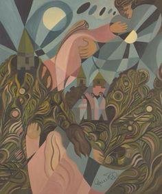 LE BAL Huile sur toile (51 cm X 61 cm) de l'artiste-peintre Gabriel Landry.  www.gabriellandry.com Gabriel, Painting, Oil On Canvas, Archangel Gabriel, Painting Art, Paintings, Painted Canvas, Drawings
