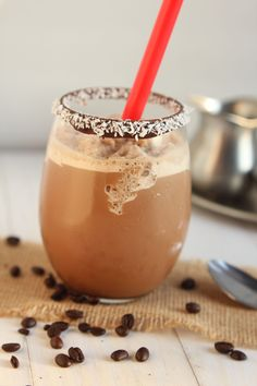 Mocha Coco Chilled Coffee - Carmel Moments