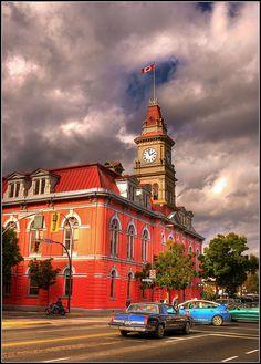 City Hall   Chinatown, Victoria, BC, Canada
