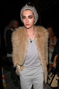 Bill Kaulitz - Bill Kaulitz Leaves STK Steakhouse in West Hollywood 2