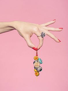 "The Piece Of Statement Jewelry That Says, ""Let's Drink!""+#refinery29"