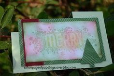 """Carte """"Merry"""""""