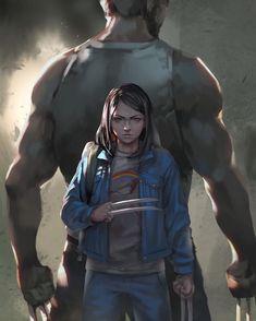 Wolverine & Laura X-23