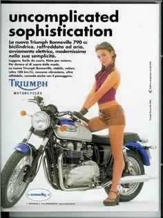 Triumph Bonneville 790 cc