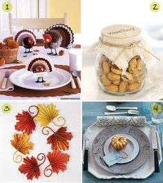 ideas thanksgiving favors - Google Search